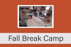 Fall Break Camp 2016