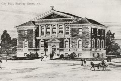 Early drawing of City Hall