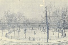 Winter View of City Park