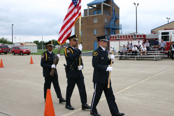 Bowling Green Fire Department - Honor Guard Camp - Training - 2009 (4)