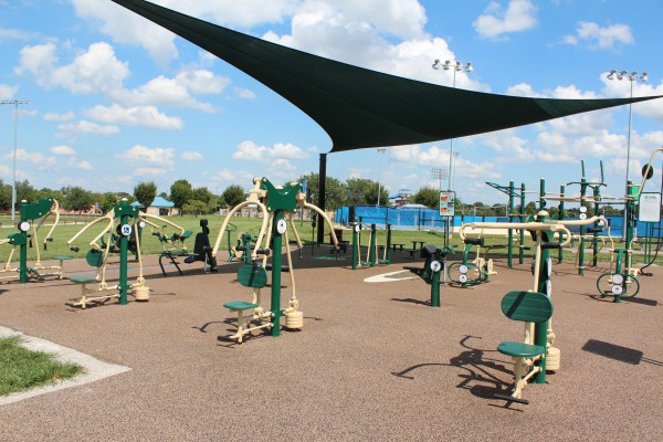Outdoor Fitness Area #1