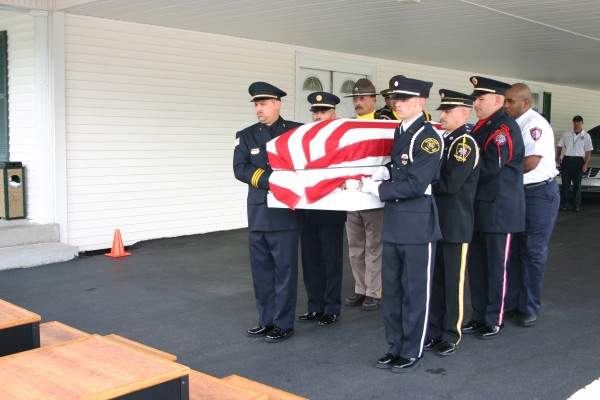 Bowling Green Fire Department - Honor Guard Camp - Training - 2009 (2)