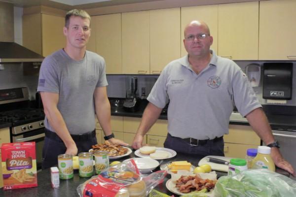 Firehouse Kitchen #2 - BBQ Chicken Sandwich & Hummus