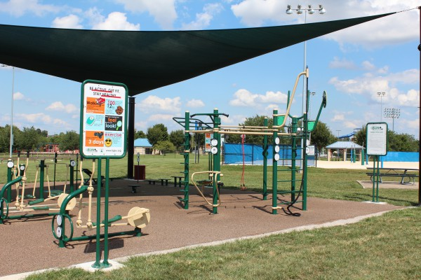 Outdoor Fitness Area #2