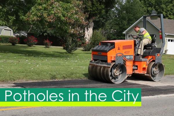 Potholes on City Streets