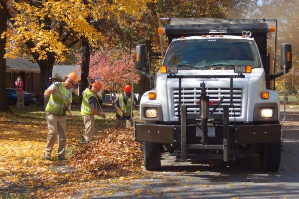 Leaf Pickup Crew