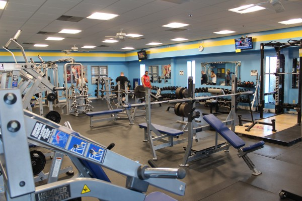 Fitness Facility - Weight Room #1