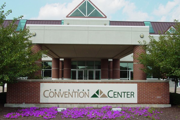 Sloan Convention Center - Entrance & Sign