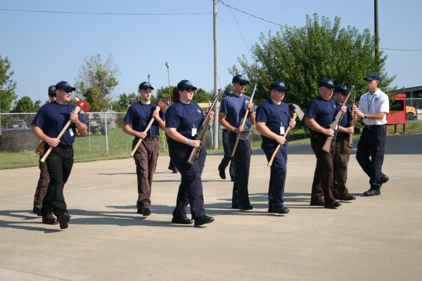 Bowling Green Fire Department - Honor Guard Camp  - Training - 2009