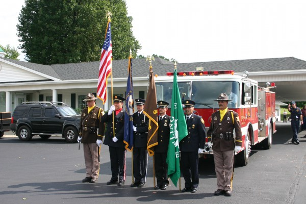 Bowling Green Fire Department - Honor Guard Camp - Training - 2009 (3)