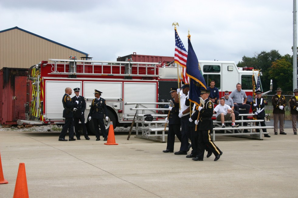 Bowling Green Fire Department - Honor Guard Camp - Training - 2010 (2)