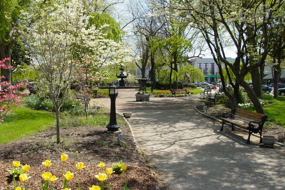 fountain square park - parks  u0026 recreation - bowling green  kentucky