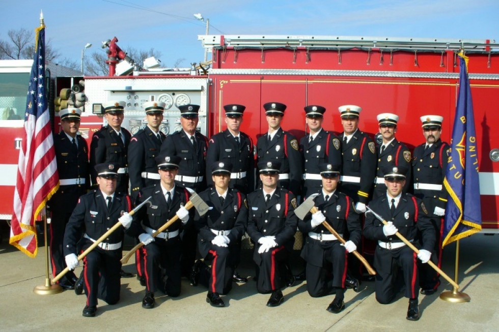 Honor Guard - 2010 - Bowling Green Fire Department