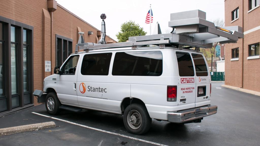Public Works - Stantec LIDAR Van