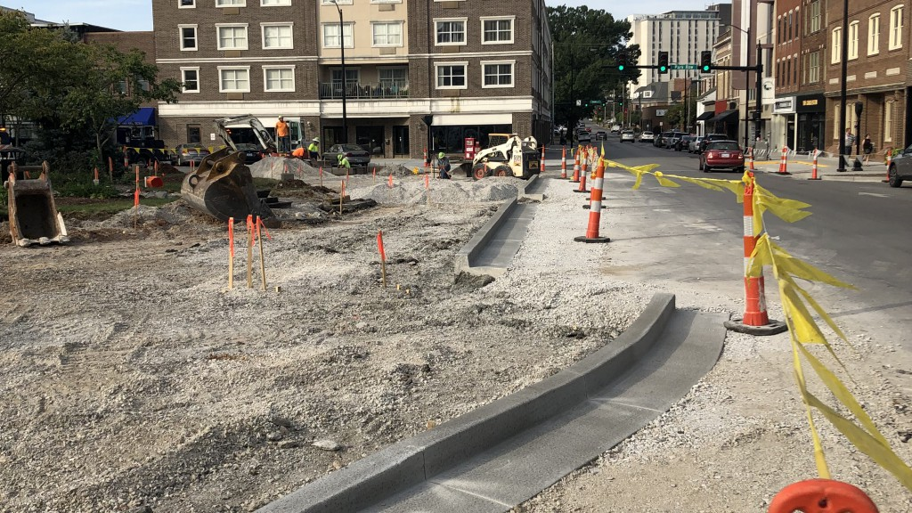 Public Works - Downtown Redevelopment Project - Sept 2019