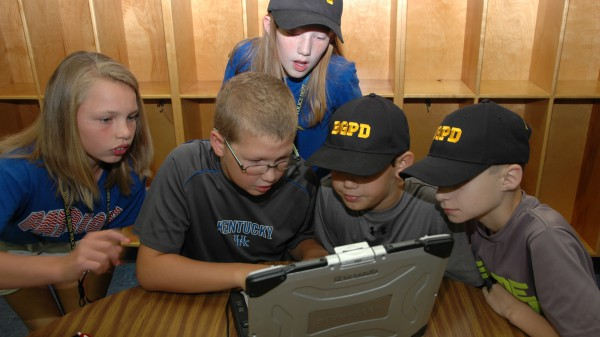 Junior Police Academy Students - 2014