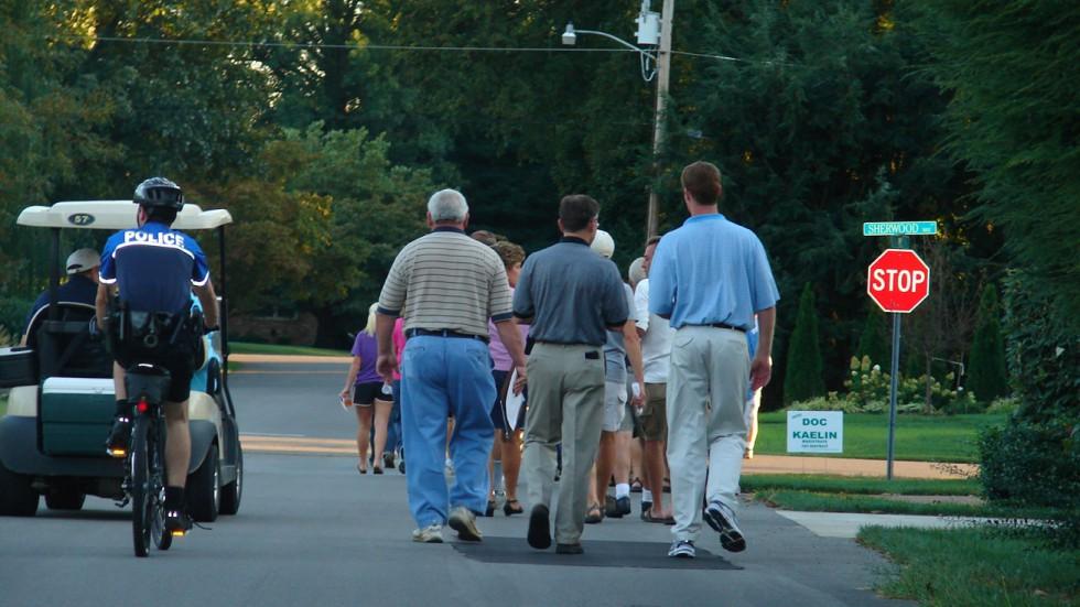 Summer Stroll in Fieldstone Farms Monday Night