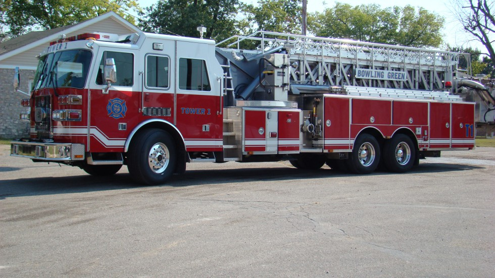 Bowling Green Fire Department - Fire Truck - Tower 1