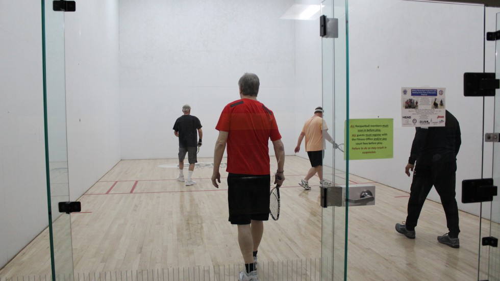 Fitness Facility - Racquetball Court