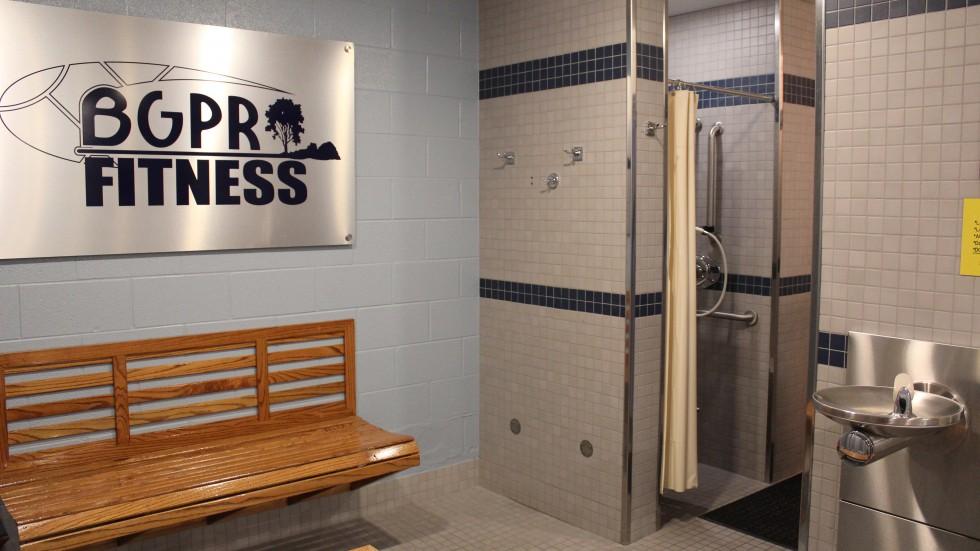 Fitness Facility - Locker Rooms