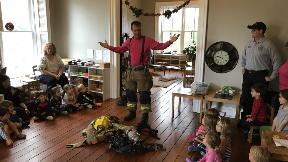 Fire Safety & Prevention - Class - Gear Demonstration - 2018