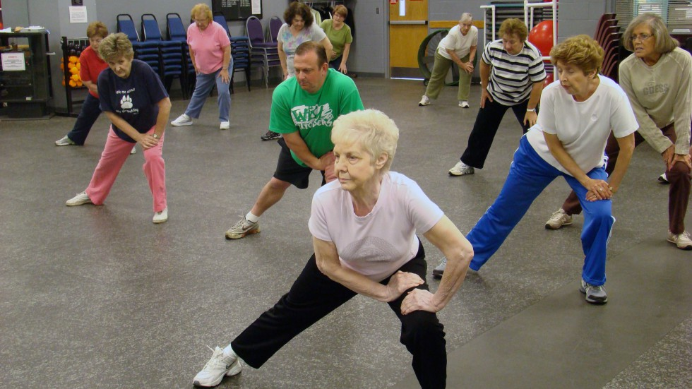 Fitness Facility - Senior Aerobics