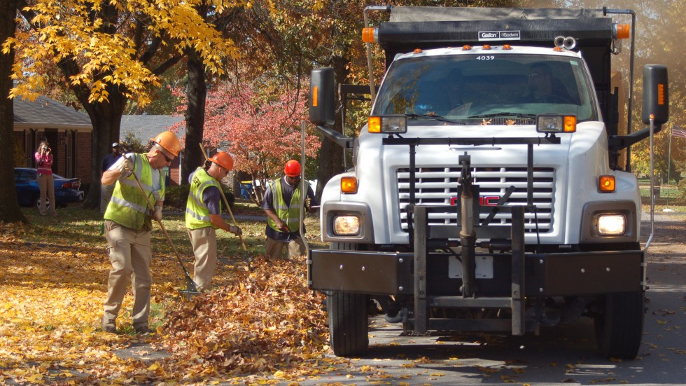 Public Works - Operations - Leaf Pickup